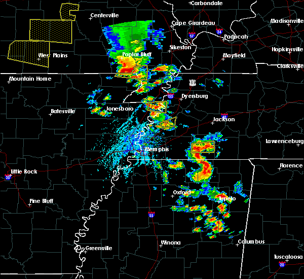 Radar Image for Severe Thunderstorms near Blytheville, AR at 5/19/2018 2:49 PM CDT