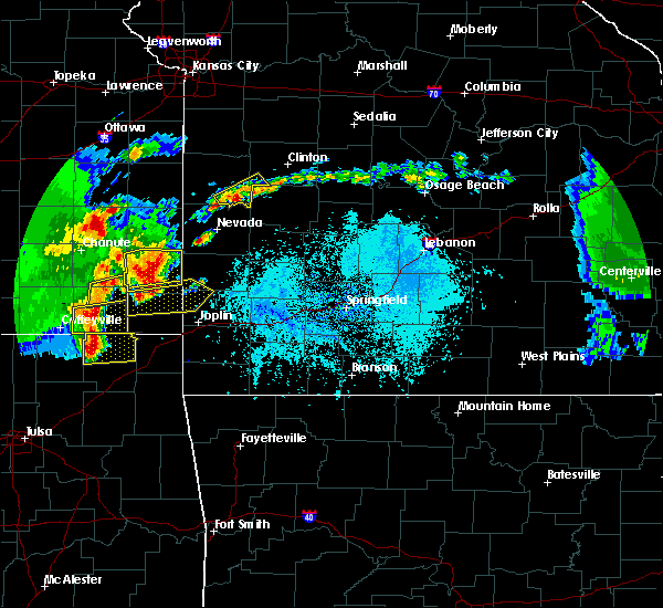 Radar Image for Severe Thunderstorms near Asbury, MO at 5/19/2018 4:44 PM CDT