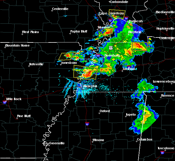 Radar Image for Severe Thunderstorms near Paragould, AR at 5/19/2018 5:34 PM CDT