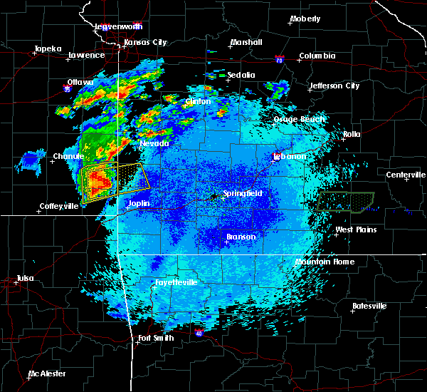 Radar Image for Severe Thunderstorms near Asbury, MO at 5/20/2018 12:57 AM CDT