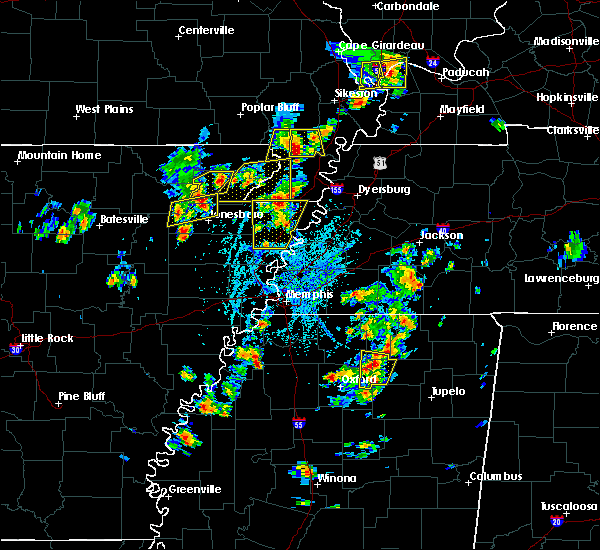 Radar Image for Severe Thunderstorms near Delaplaine, AR at 5/20/2018 3:00 PM CDT