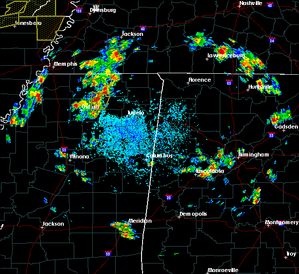 Radar Image for Severe Thunderstorms near Hickory Flat, MS at 5/20/2018 3:00 PM CDT