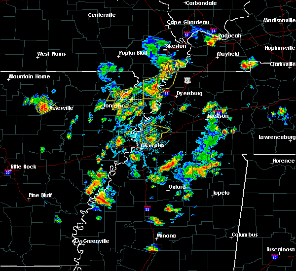 Radar Image for Severe Thunderstorms near West Memphis, AR at 5/20/2018 4:01 PM CDT