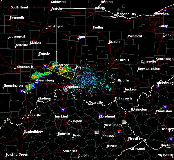 Radar Image for Severe Thunderstorms near West Carrollton, OH at 5/20/2018 5:48 PM EDT
