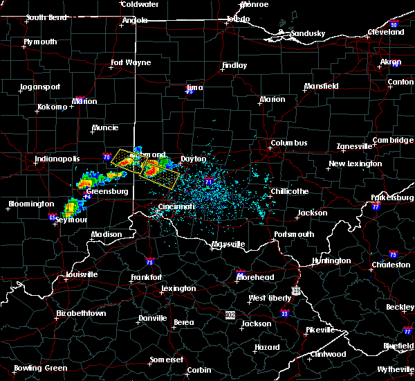 Radar Image for Severe Thunderstorms near Richmond, IN at 5/20/2018 5:54 PM EDT