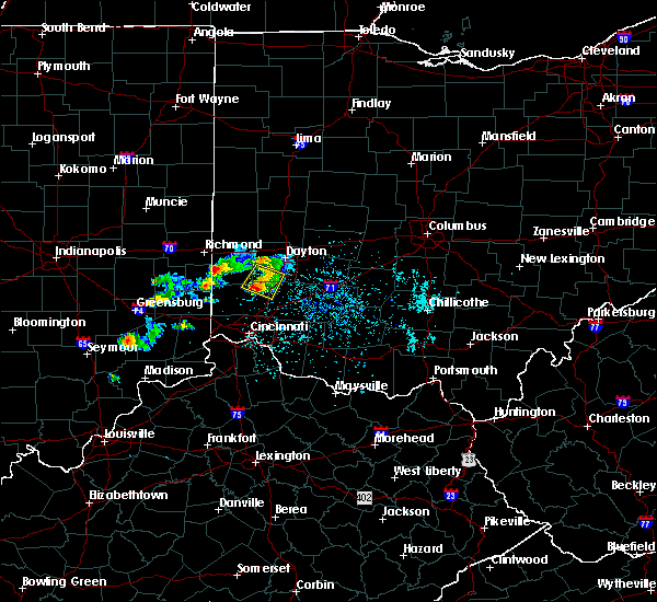 Radar Image for Severe Thunderstorms near Germantown, OH at 5/20/2018 6:22 PM EDT
