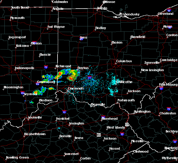 Radar Image for Severe Thunderstorms near Trenton, OH at 5/20/2018 6:28 PM EDT