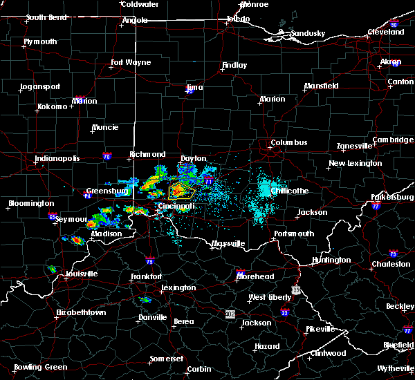 Radar Image for Severe Thunderstorms near Lebanon, OH at 5/20/2018 6:49 PM EDT