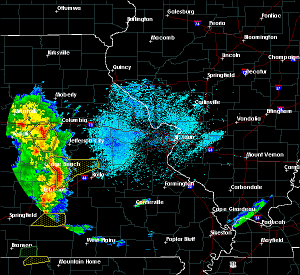 Radar Image for Severe Thunderstorms near St. Elizabeth, MO at 5/20/2018 7:45 PM CDT