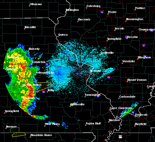 Radar Image for Severe Thunderstorms near Iberia, MO at 5/20/2018 7:51 PM CDT