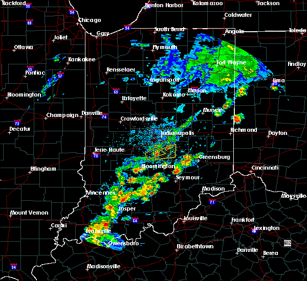 Radar Image for Severe Thunderstorms near New Whiteland, IN at 5/21/2018 4:57 PM EDT