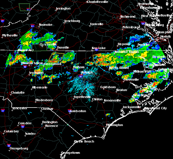 Radar Image for Severe Thunderstorms near Altamahaw, NC at 5/21/2018 5:19 PM EDT