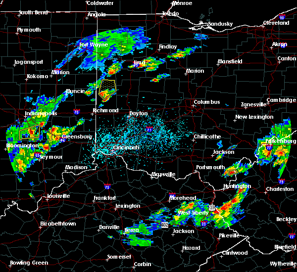 Radar Image for Severe Thunderstorms near North Star, OH at 5/21/2018 5:19 PM EDT