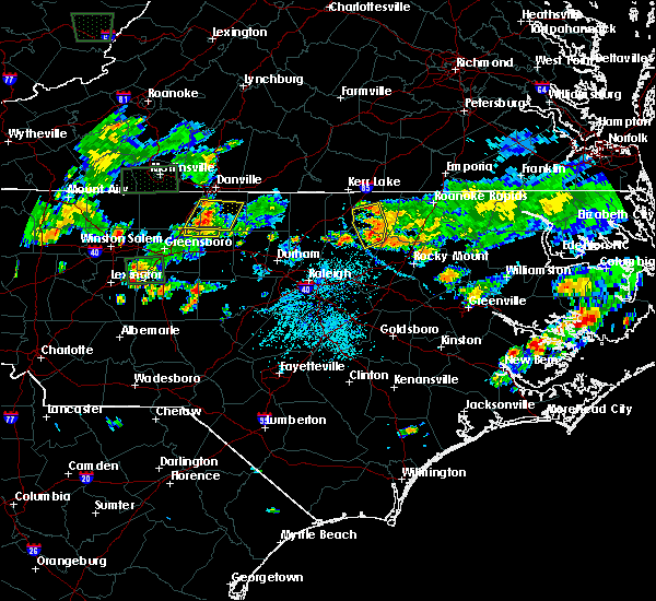 Radar Image for Severe Thunderstorms near Warrenton, NC at 5/21/2018 5:28 PM EDT