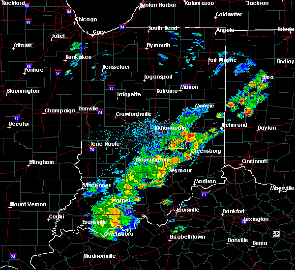 Radar Image for Severe Thunderstorms near Manilla, IN at 5/21/2018 5:49 PM EDT