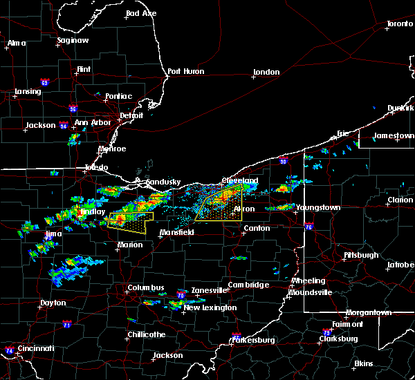 Radar Image for Severe Thunderstorms near Richfield, OH at 5/22/2018 2:28 PM EDT