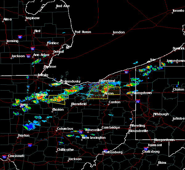 Radar Image for Severe Thunderstorms near Ravenna, OH at 5/22/2018 2:46 PM EDT