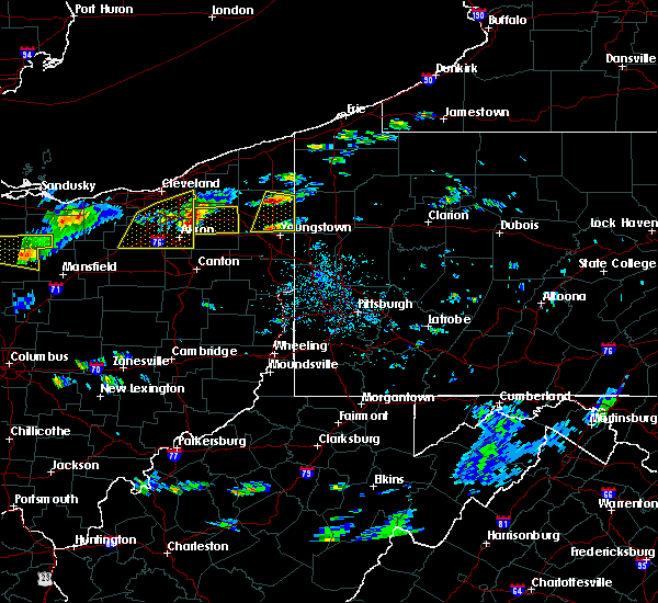 Radar Image for Severe Thunderstorms near Girard, OH at 5/22/2018 2:49 PM EDT