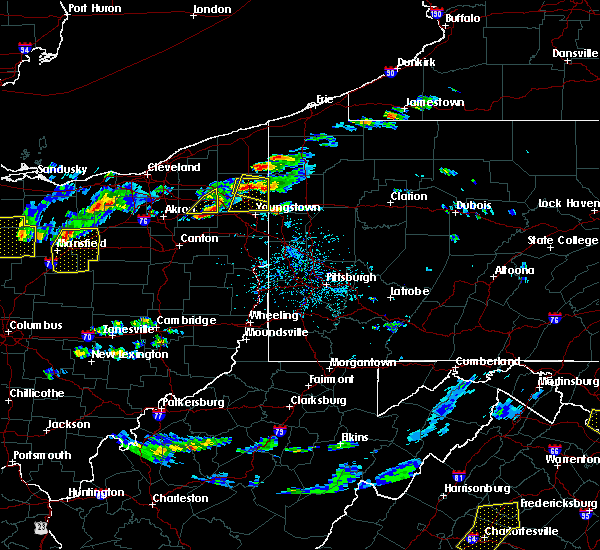 Radar Image for Severe Thunderstorms near Cortland, OH at 5/22/2018 3:32 PM EDT