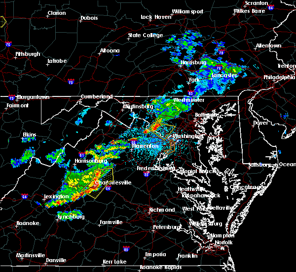 Radar Image for Severe Thunderstorms near Cloverly, MD at 5/22/2018 3:38 PM EDT