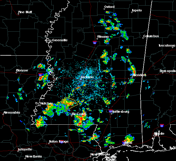 Radar Image for Severe Thunderstorms near Wesson, MS at 5/22/2018 2:44 PM CDT