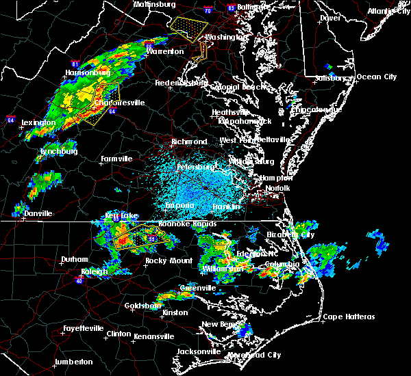 Radar Image for Severe Thunderstorms near Halifax, NC at 5/22/2018 3:47 PM EDT