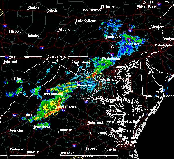 Radar Image for Severe Thunderstorms near Glen Echo, MD at 5/22/2018 3:50 PM EDT