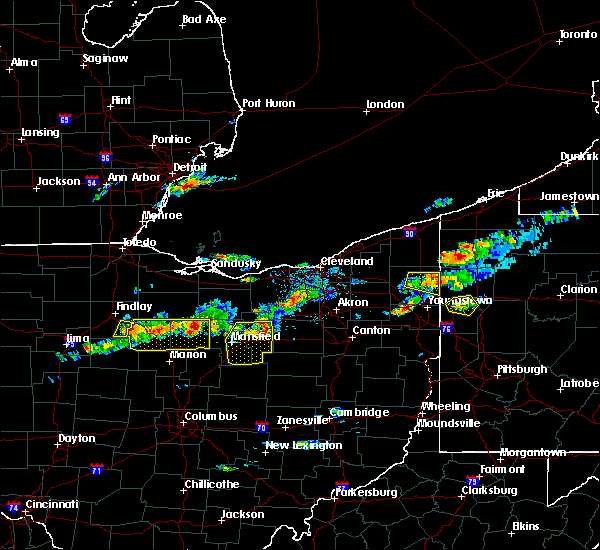 Radar Image for Severe Thunderstorms near Tiro, OH at 5/22/2018 3:50 PM EDT