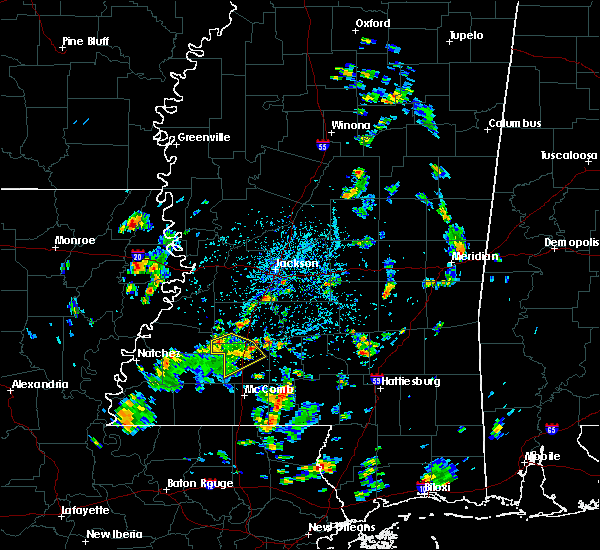 Radar Image for Severe Thunderstorms near Wesson, MS at 5/22/2018 2:56 PM CDT