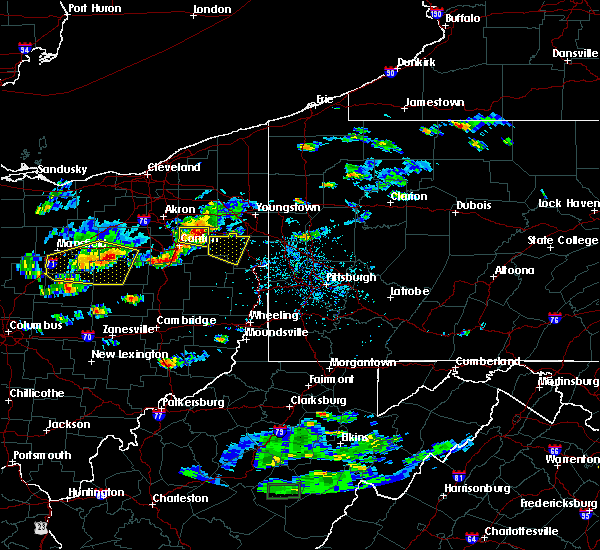 Radar Image for Severe Thunderstorms near Washingtonville, OH at 5/22/2018 5:10 PM EDT