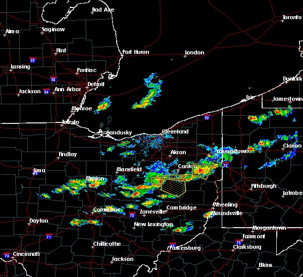 Radar Image for Severe Thunderstorms near Tuscarawas, OH at 5/22/2018 5:40 PM EDT
