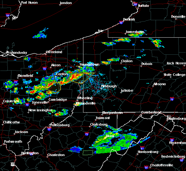 Radar Image for Severe Thunderstorms near Tuscarawas, OH at 5/22/2018 5:53 PM EDT