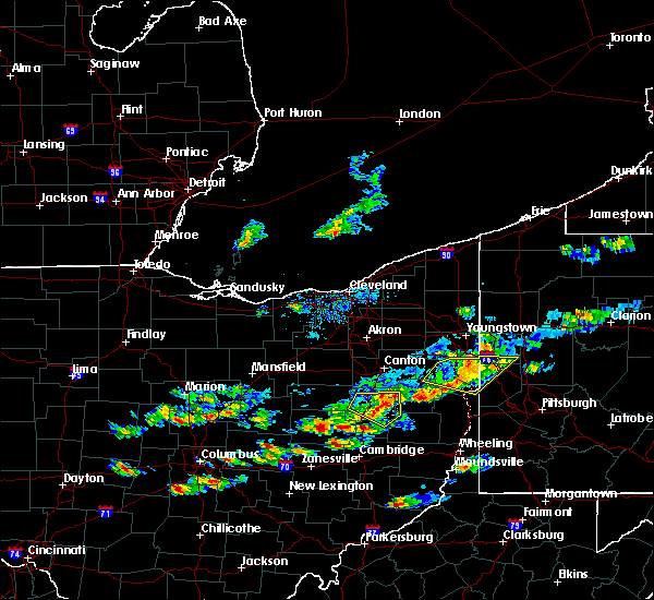 Radar Image for Severe Thunderstorms near Plainfield, OH at 5/22/2018 6:05 PM EDT