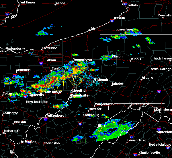 Radar Image for Severe Thunderstorms near Tuscarawas, OH at 5/22/2018 6:14 PM EDT