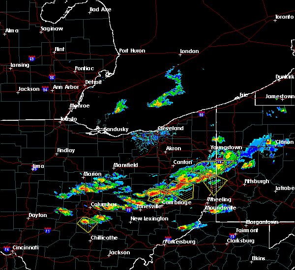 Radar Image for Severe Thunderstorms near Plainfield, OH at 5/22/2018 6:20 PM EDT