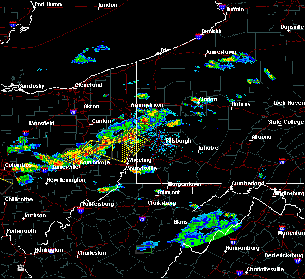 Radar Image for Severe Thunderstorms near Wintersville, OH at 5/22/2018 6:30 PM EDT