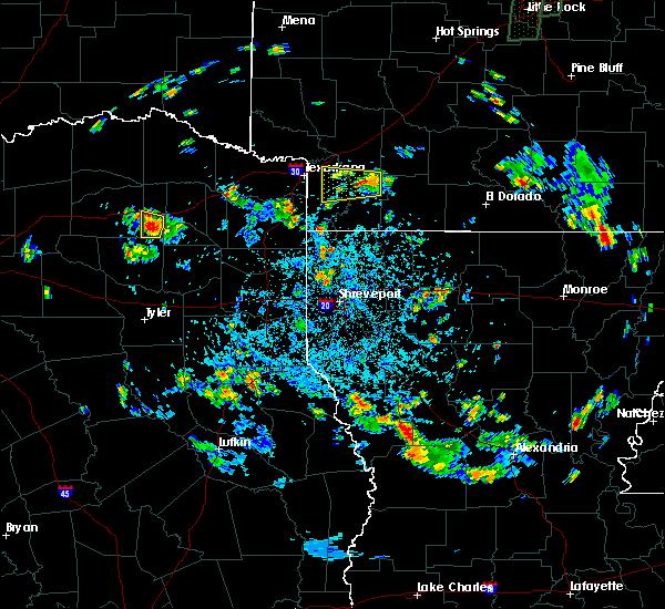 Radar Image for Severe Thunderstorms near Winnsboro, TX at 5/23/2018 4:50 PM CDT