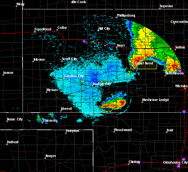 Radar Image for Severe Thunderstorms near Protection, KS at 5/25/2018 12:53 AM CDT