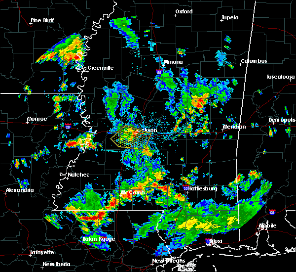 Radar Image for Severe Thunderstorms near Brandon, MS at 5/25/2018 4:00 PM CDT