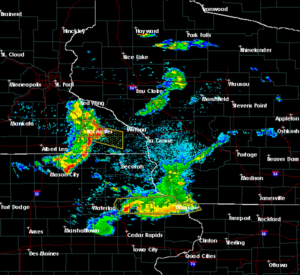 Radar Image for Severe Thunderstorms near Fountain, MN at 5/25/2018 8:57 PM CDT