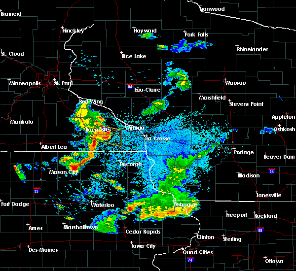 Radar Image for Severe Thunderstorms near Fountain, MN at 5/25/2018 9:17 PM CDT