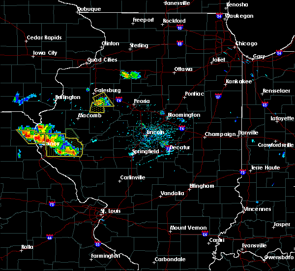Radar Image for Severe Thunderstorms near Avon, IL at 5/26/2018 6:25 PM CDT