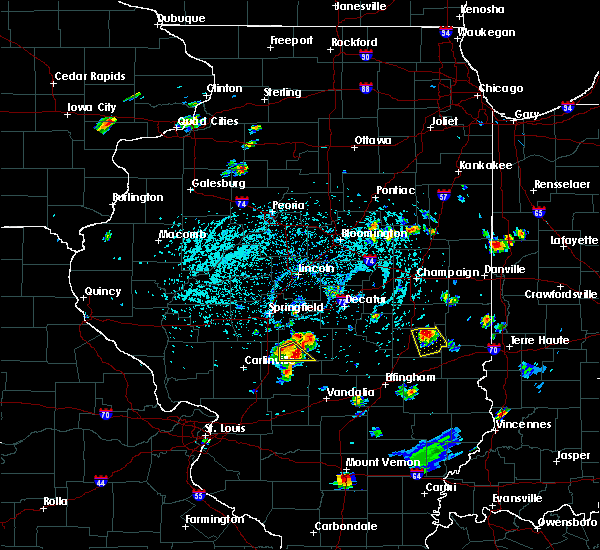 Radar Image for Severe Thunderstorms near Charleston, IL at 5/27/2018 2:24 PM CDT