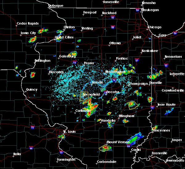 Radar Image for Severe Thunderstorms near Charleston, IL at 5/27/2018 2:46 PM CDT