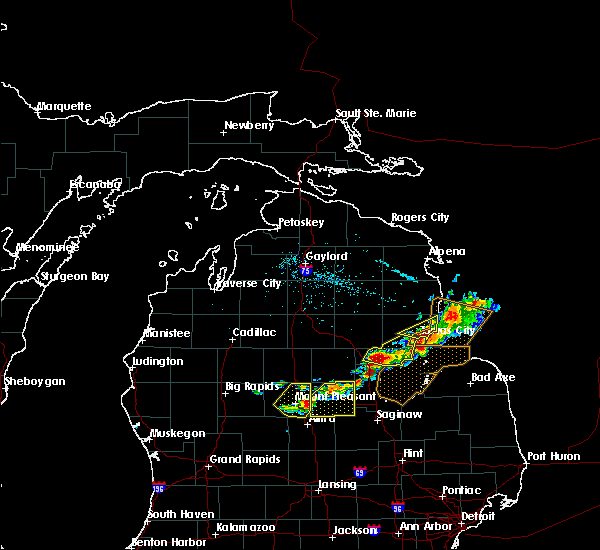 Radar Image for Severe Thunderstorms near Au Sable, MI at 5/27/2018 4:17 PM EDT