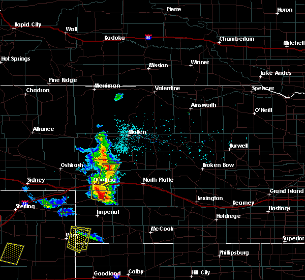 Radar Image for Severe Thunderstorms near Roscoe, NE at 5/27/2018 5:02 PM MDT