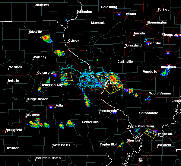 Radar Image for Severe Thunderstorms near Venice, IL at 5/27/2018 6:14 PM CDT