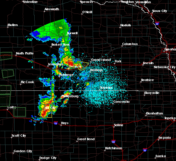 Radar Image for Severe Thunderstorms near Grand Island, NE at 5/28/2018 12:57 PM CDT
