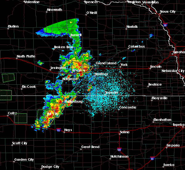 Radar Image for Severe Thunderstorms near Grand Island, NE at 5/28/2018 1:25 PM CDT