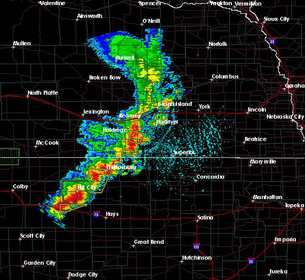 Radar Image for Severe Thunderstorms near Franklin, NE at 5/28/2018 2:42 PM CDT